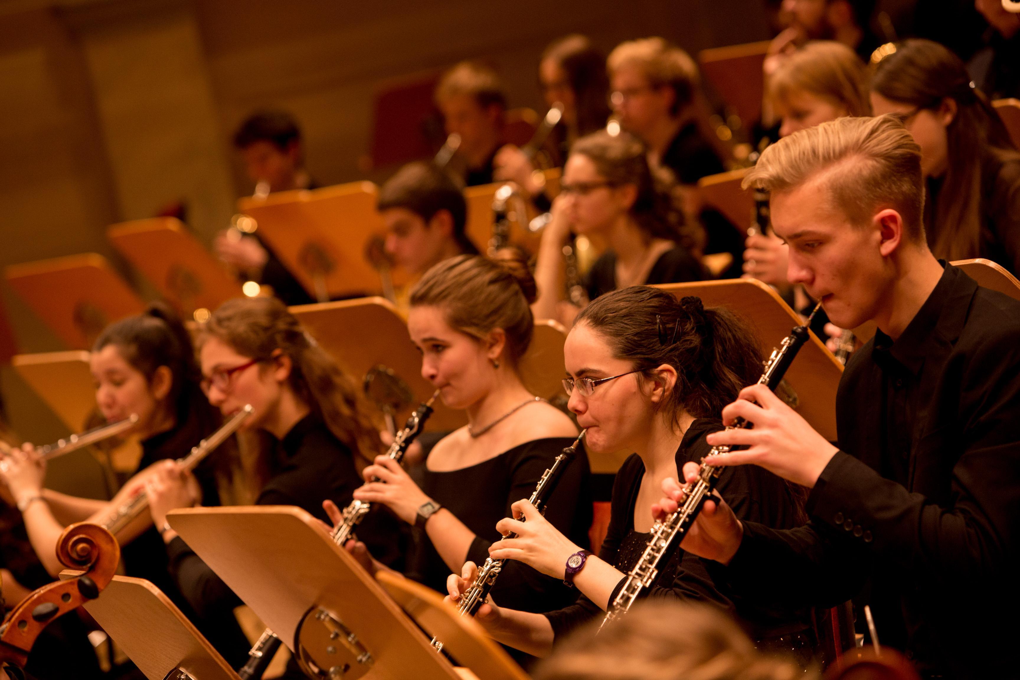 Holzbläser der Jungen Philharmonie