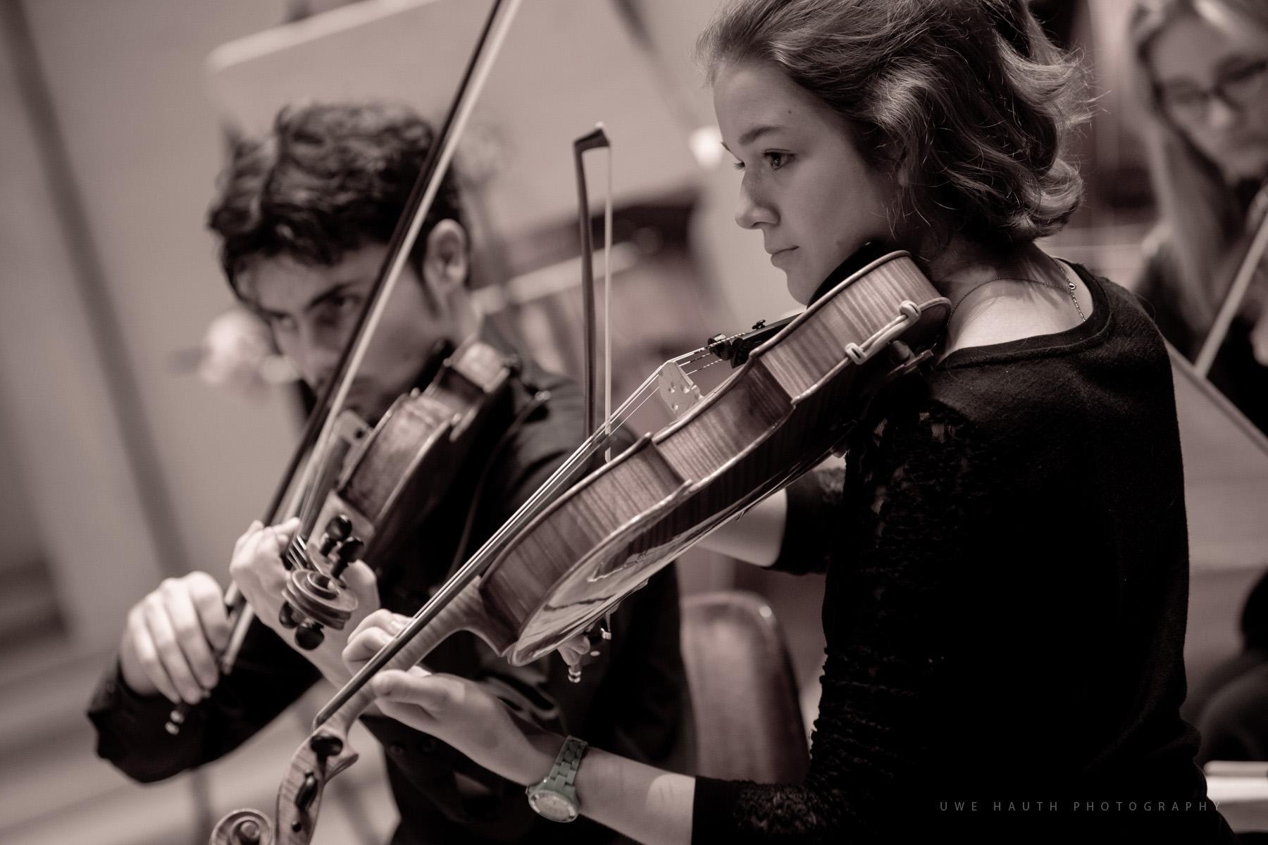 Violinisten der Jungen Philharmonie