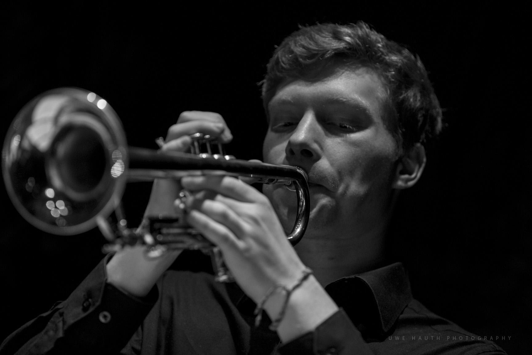 Solo-Trompeter des LaJJazzO