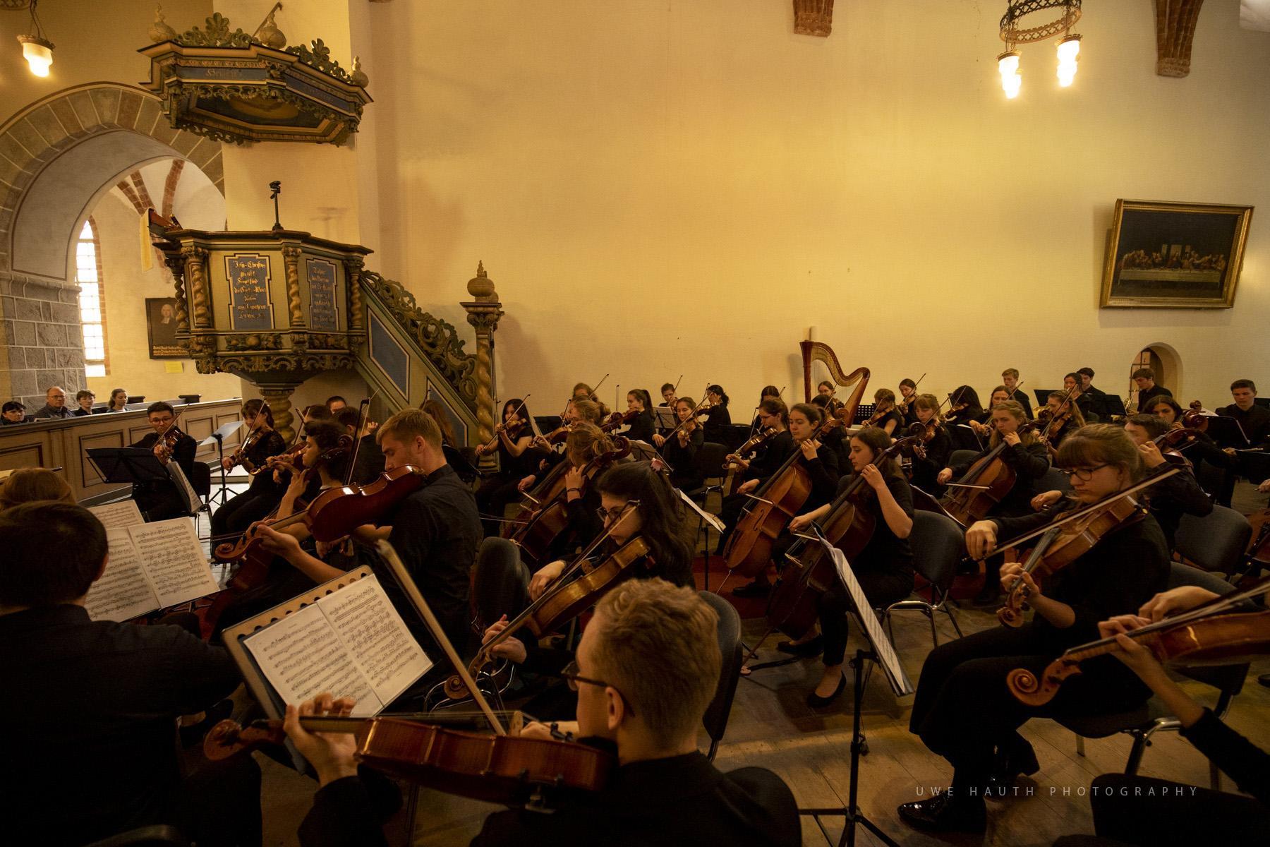 Musikschulen öffnen Kirchen in der St. Marienkirche Strausberg