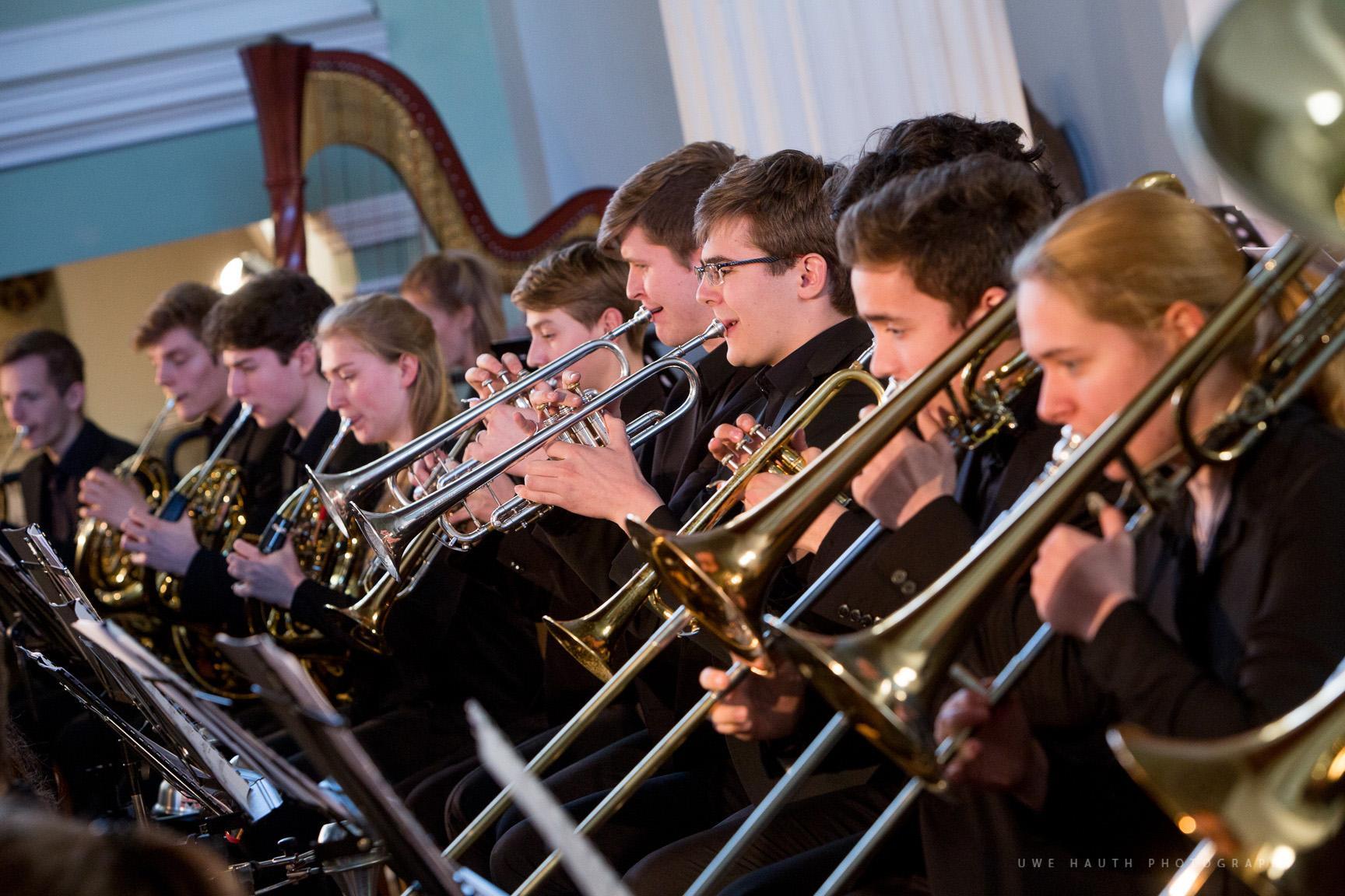 Bläsergruppe der Jungen Philharmonie