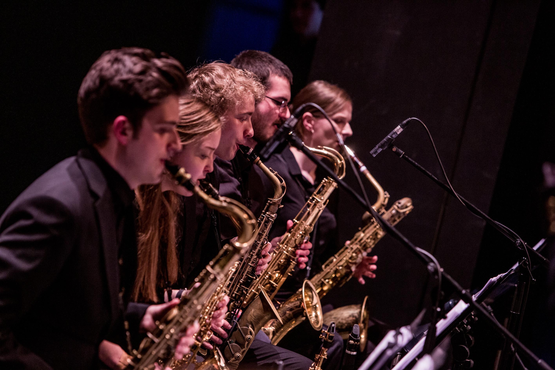 Saxofonisten des LaJJazzO