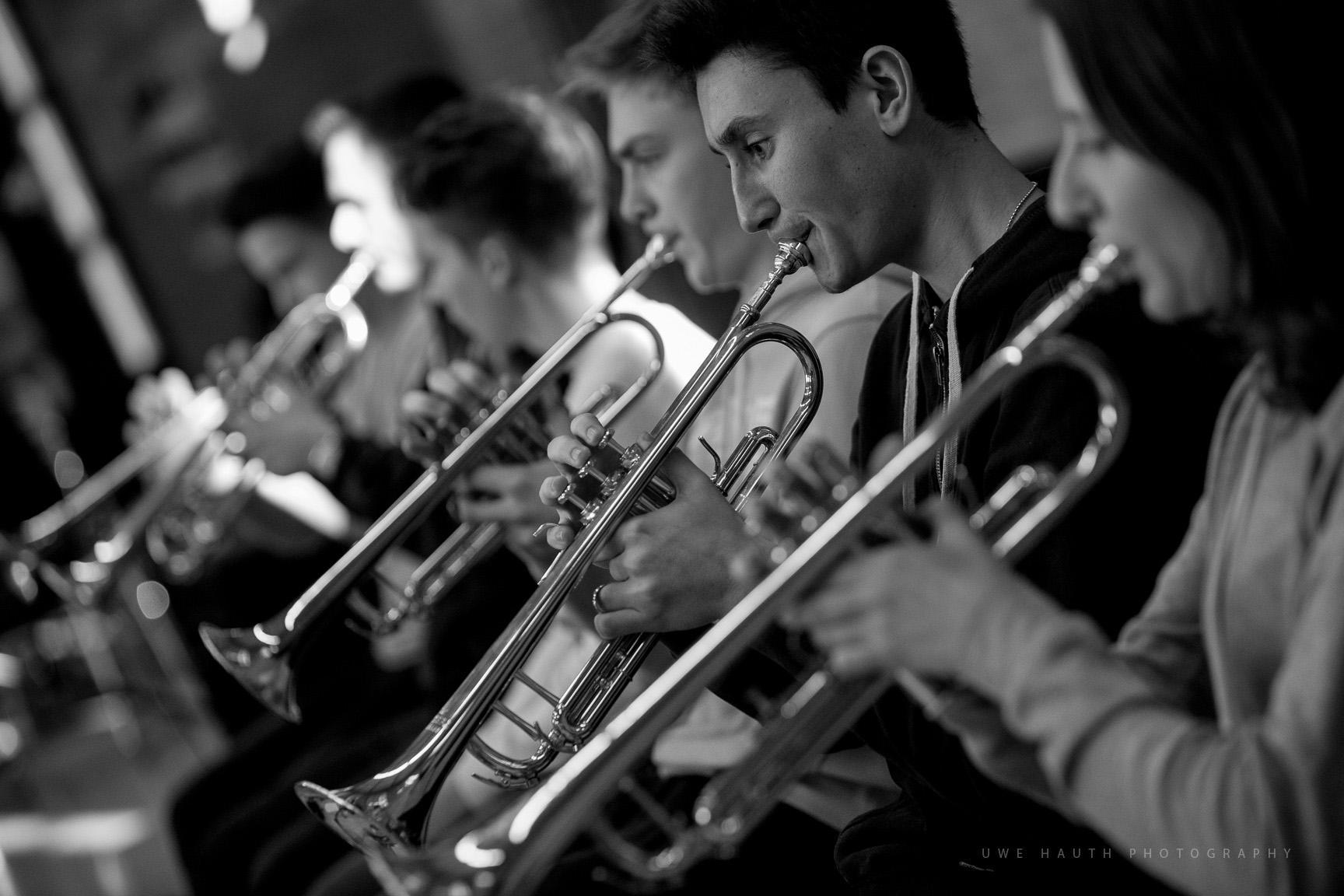 Trompeten des LaJJazzO Junior