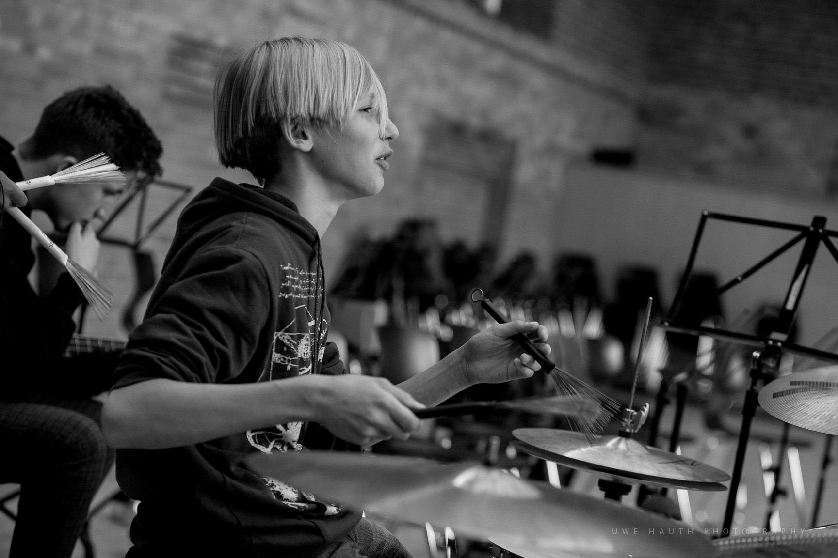 Schlagzeuger des LaJJazzO Junior