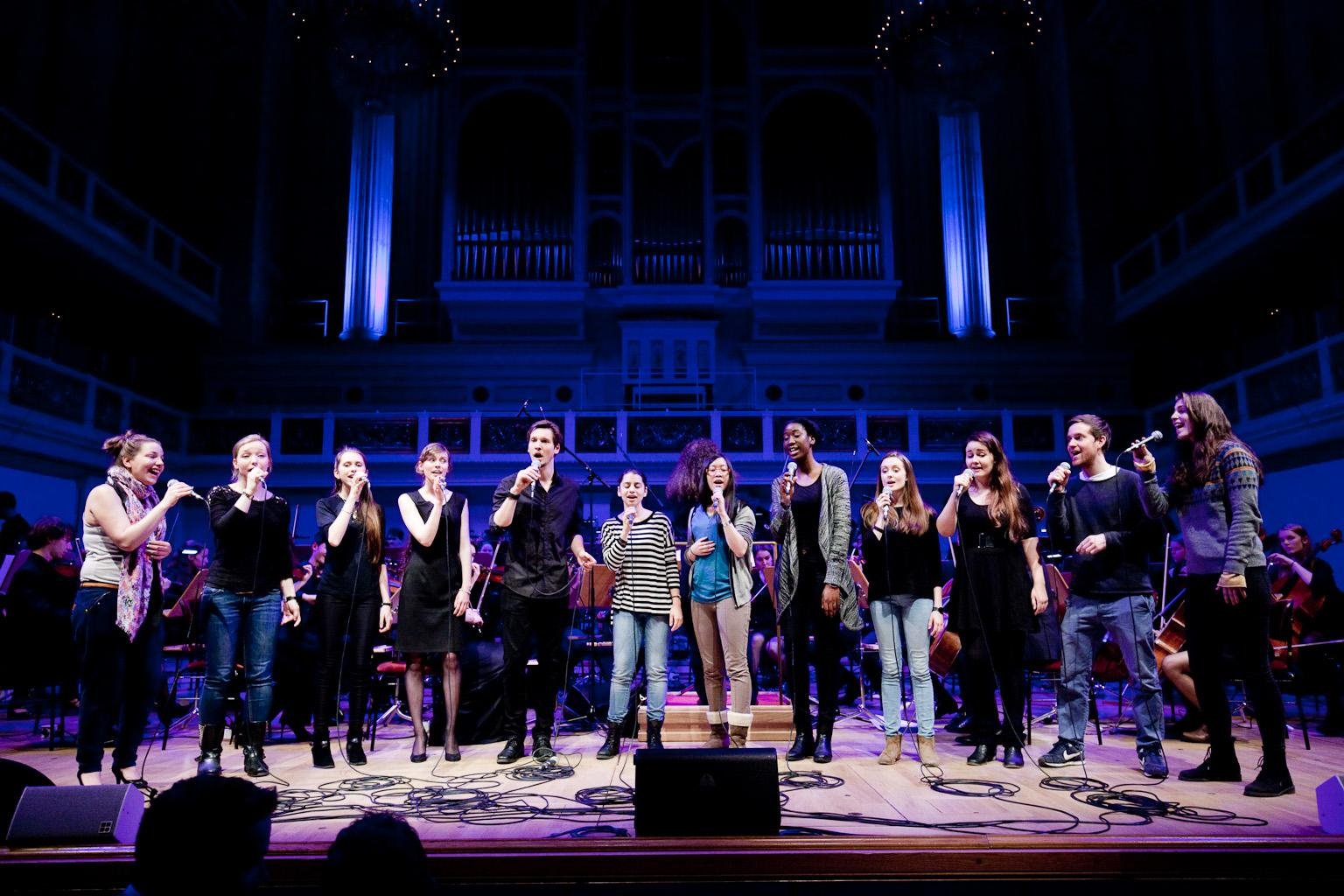 Die Young Voices Brandenburg im Konzert