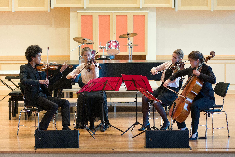 Das Liebermann-Quartett bei enviaM MUSIK AUS KOMMUNEN