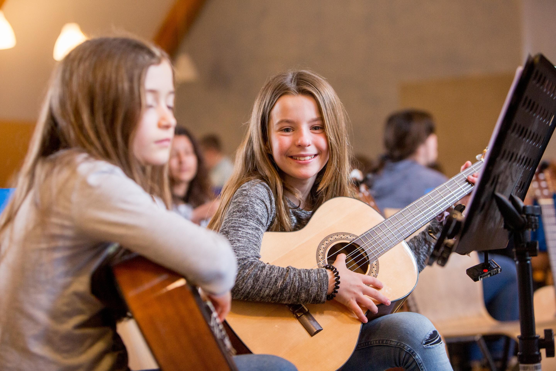 Gitarrenklasse Klasse:Musik