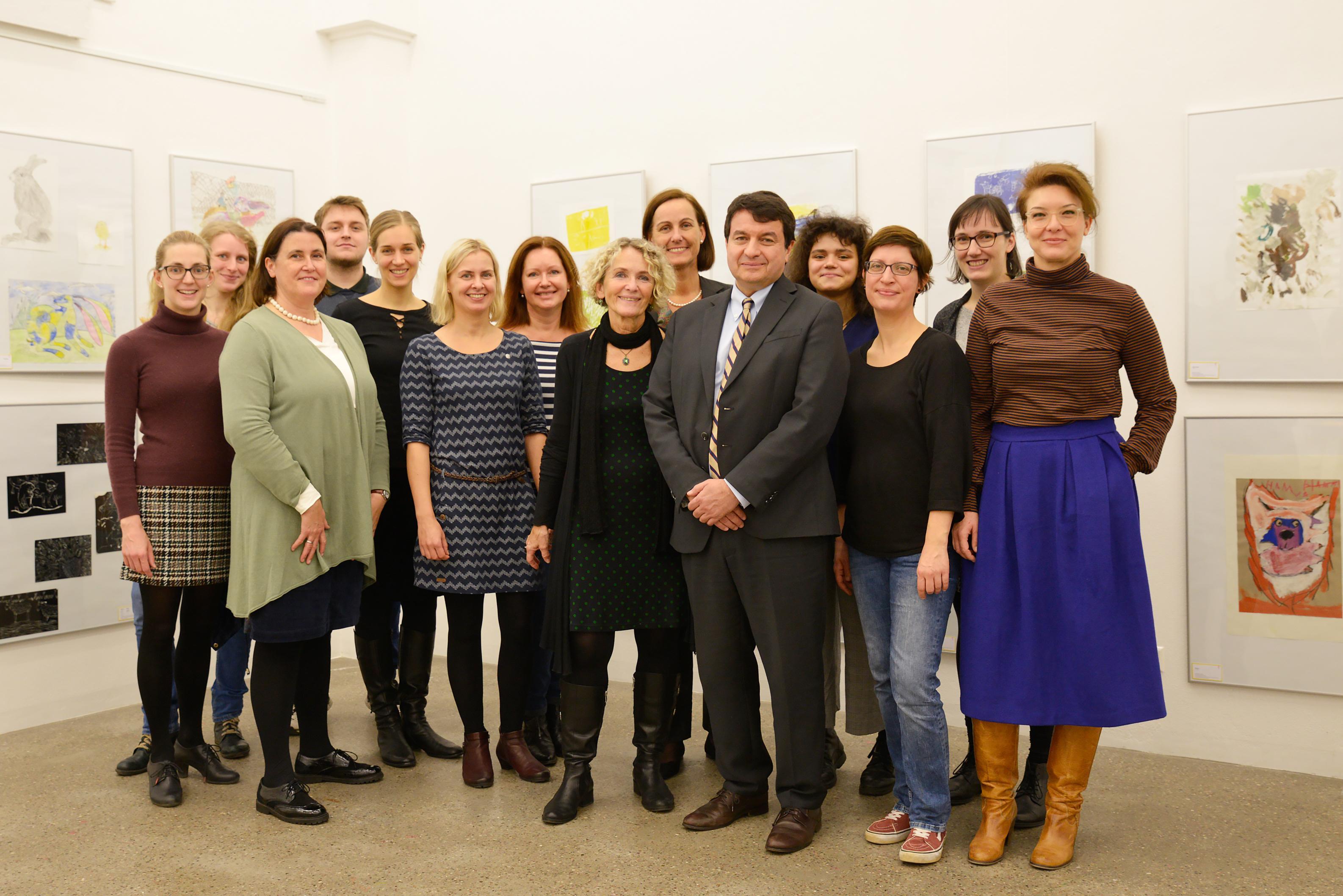 Das Geschäftsstellen-Team des VdMK Brandenburg