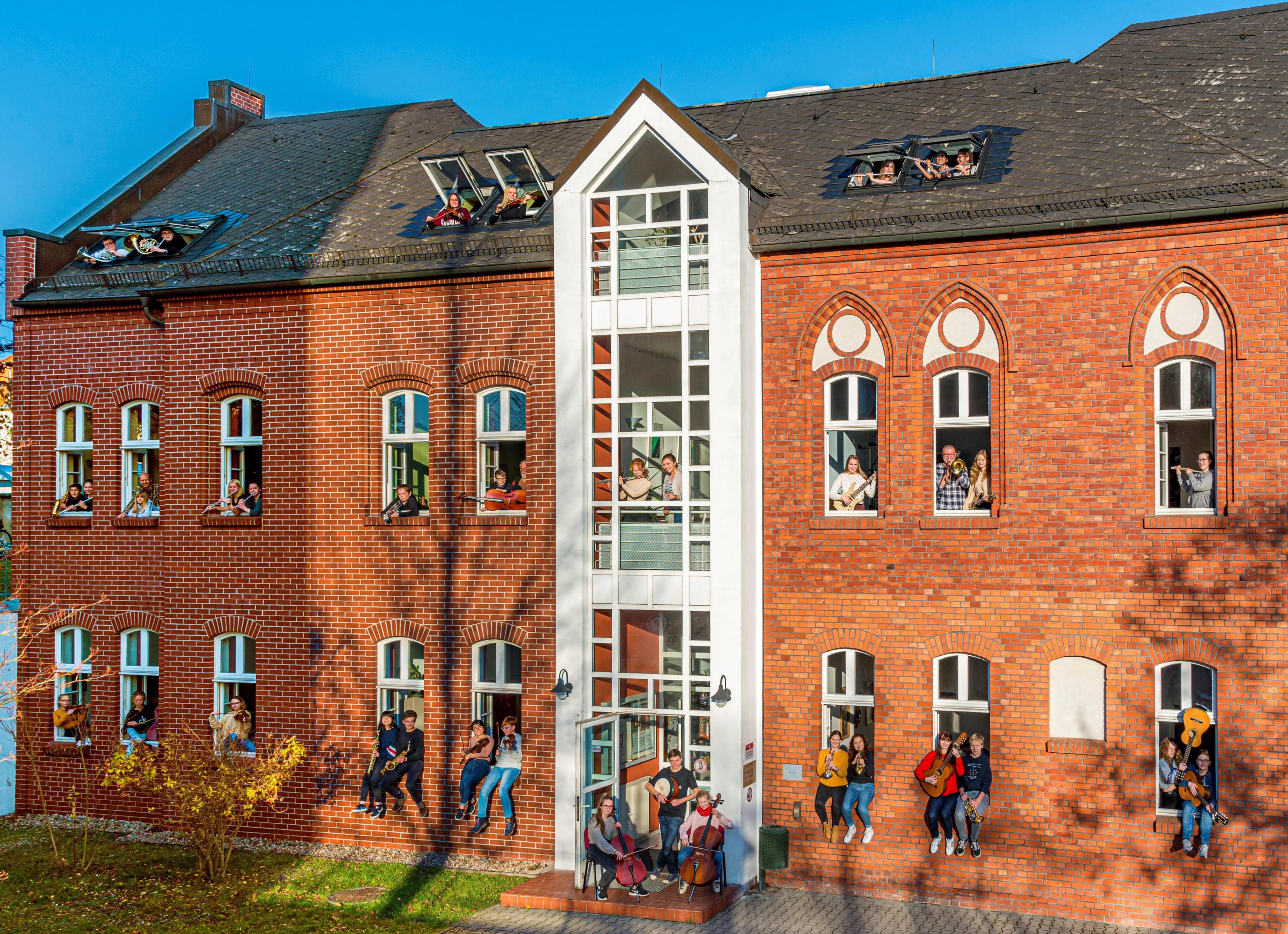 Hauptstellengebäude der Kreismusikschule Uckermark