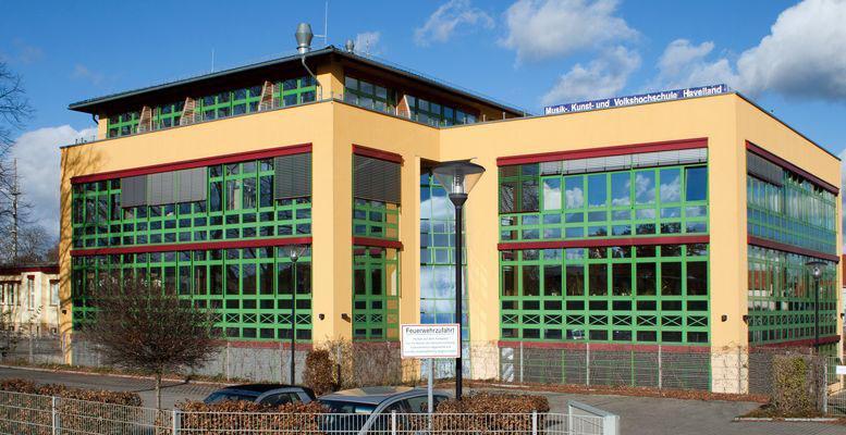 Hauptstandort der Musik- und Kunstschule Havelland in Falkensee