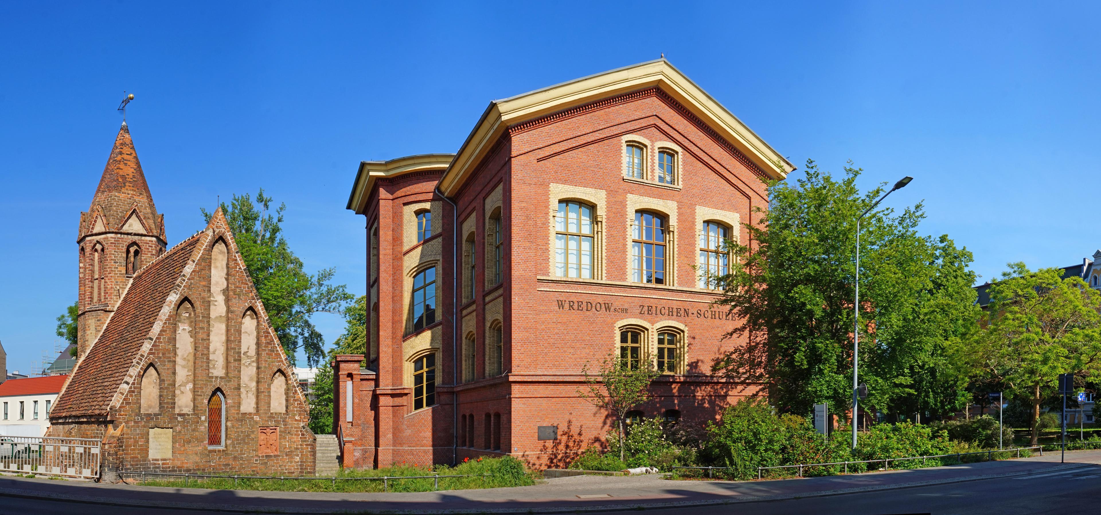 Gebäude der Kunstschule Wredow
