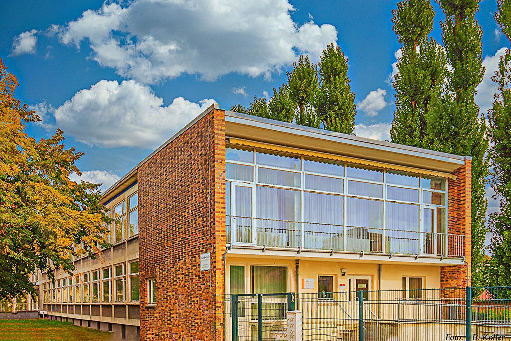 """Gebäude der Musikschule Oder-Spree """"Jutta Schlegel"""" in Eisenhüttenstadt"""