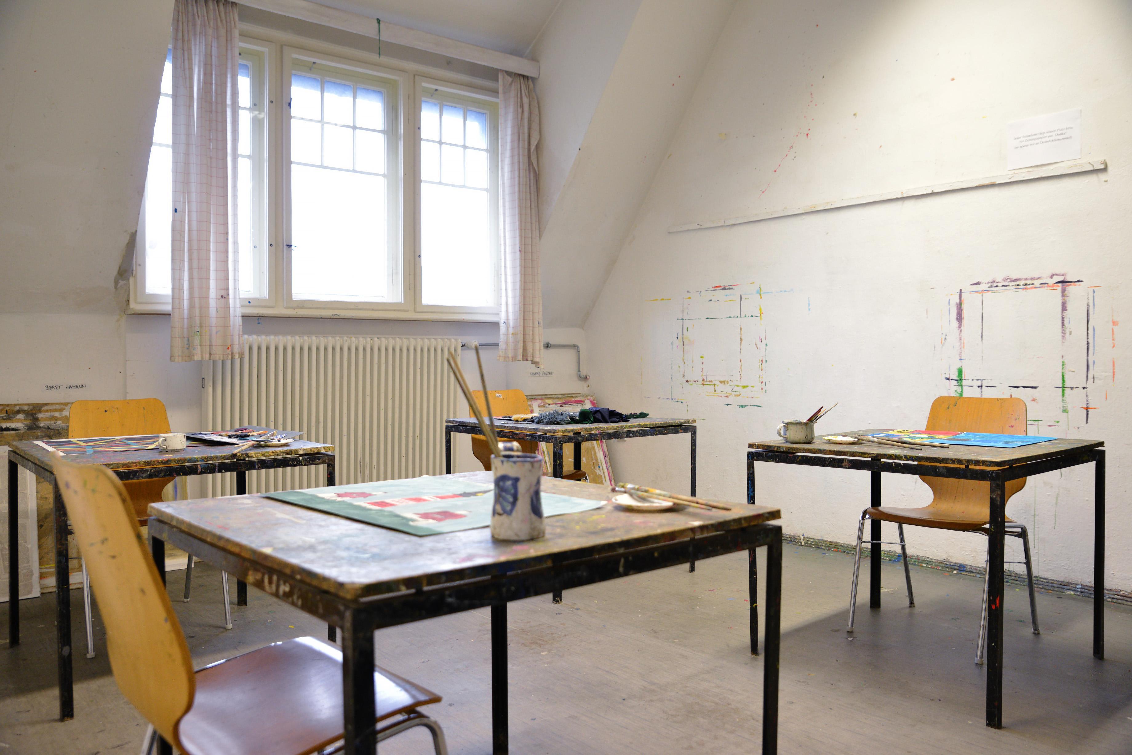 Klassenzimmer der Kunstschule Potsdam