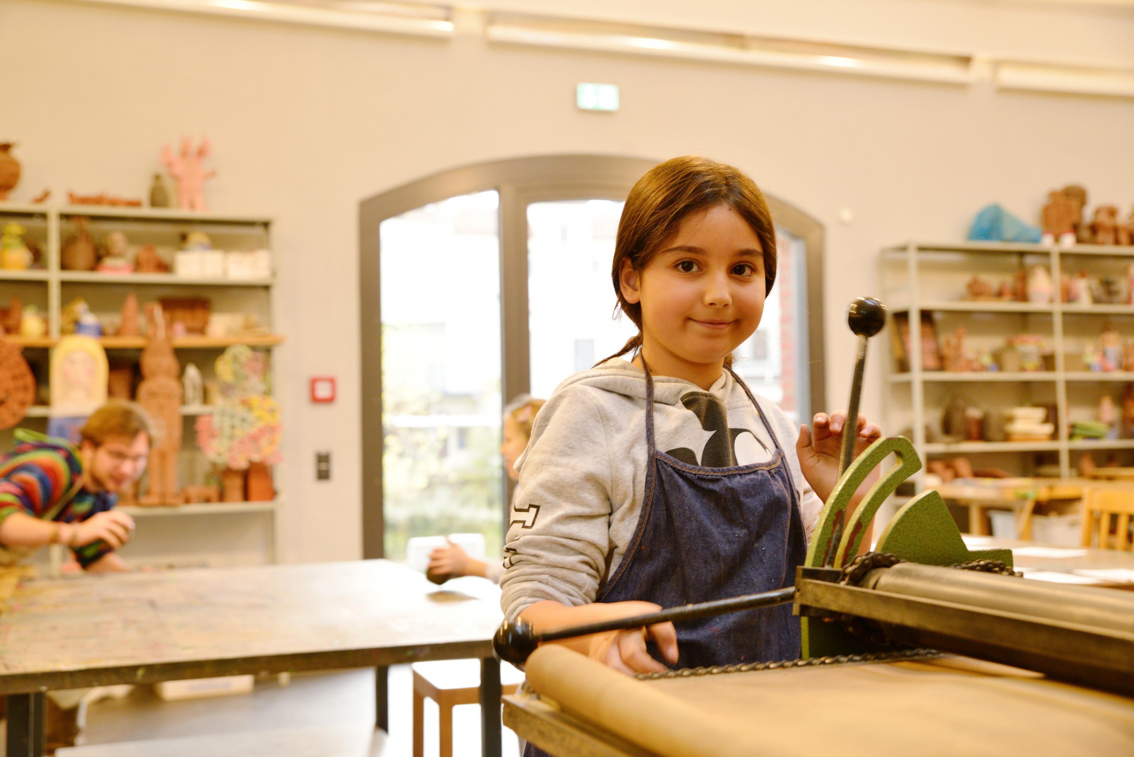 Kunstunterricht der Kunstschule Wredow