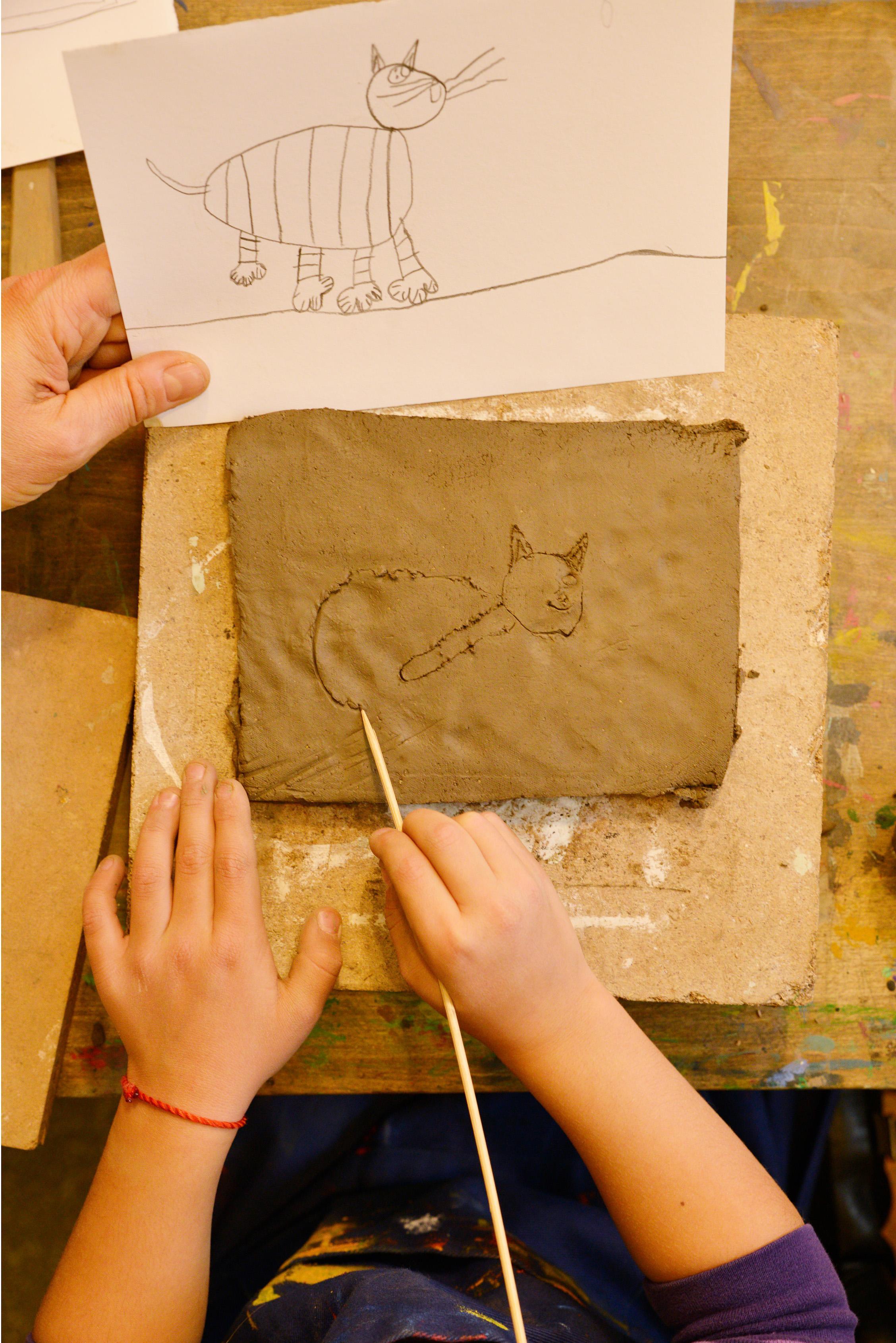 Kunstwerk der Kunstschule Wredow