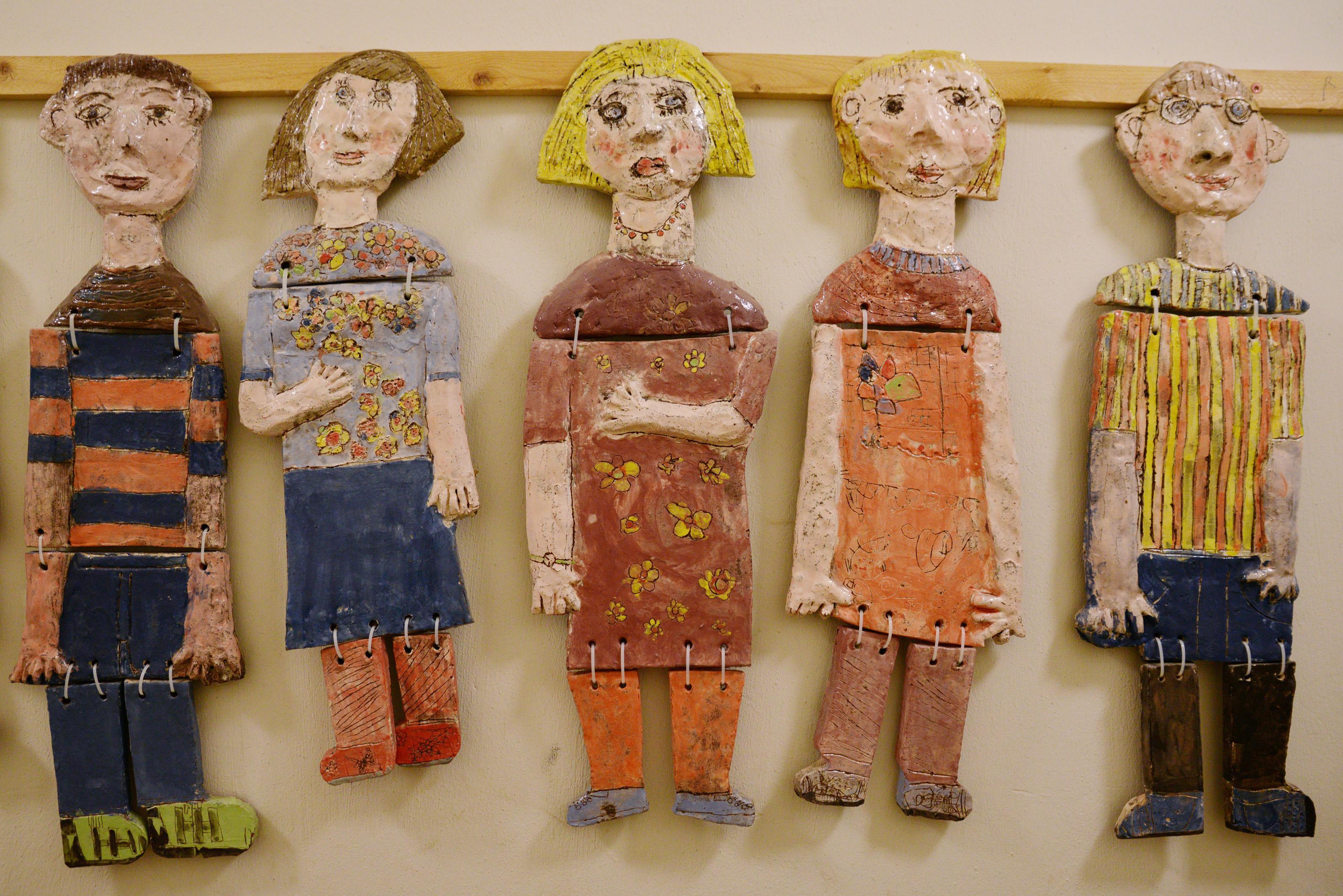 Kunstwerke der Kunstschule Wredow