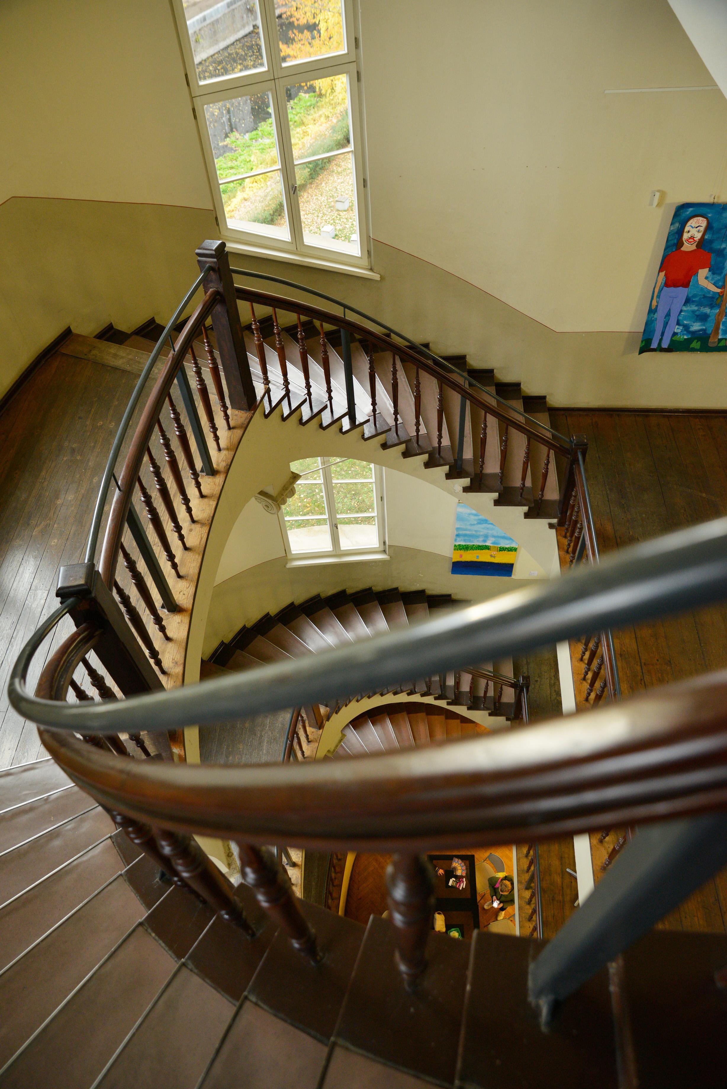 Treppenhaus der Kunstschule Wredow