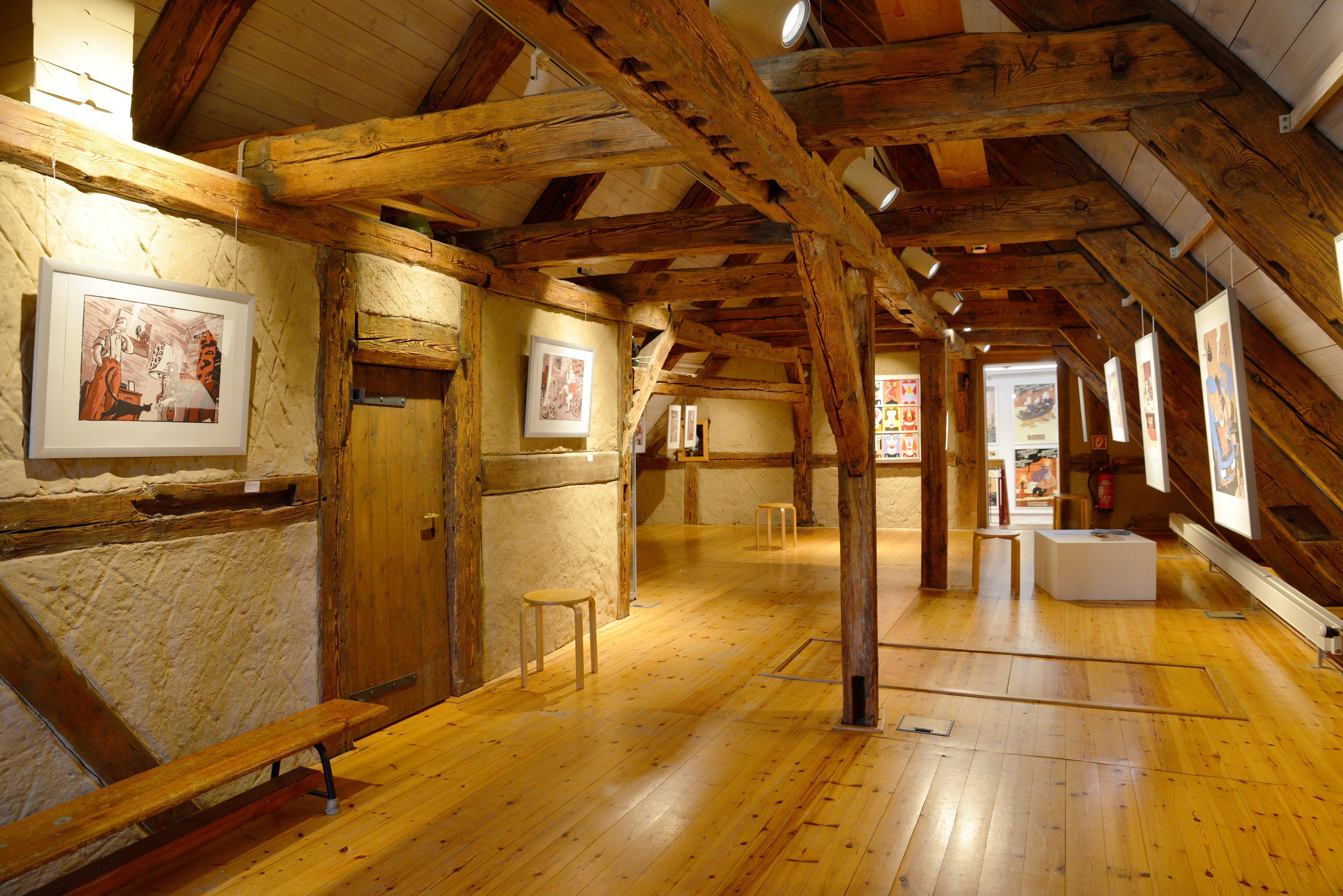 Ausstellung der Kunstschule Sonnensegel