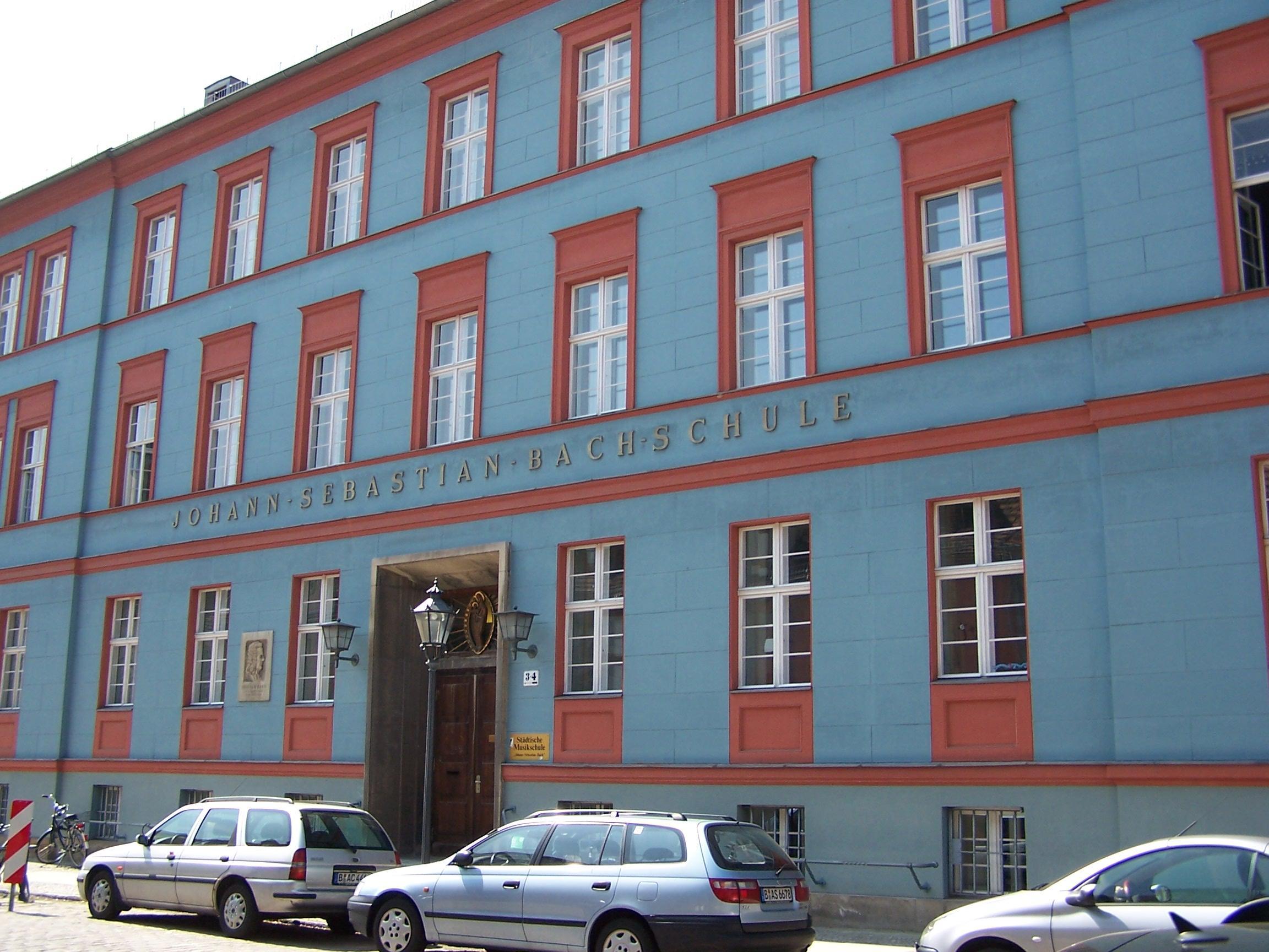 Gebäude der Musikschule Johann Sebastian Bach in Potsdam