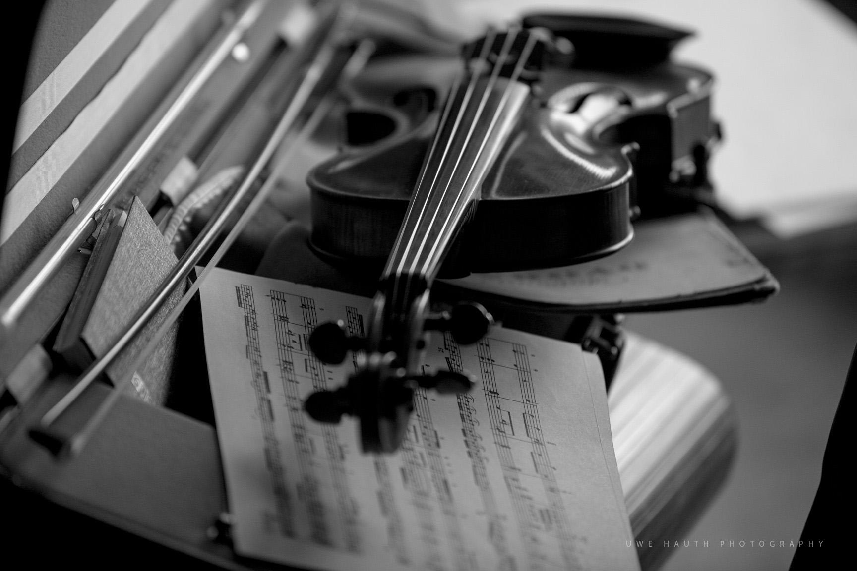 Geige im Geigenkasten