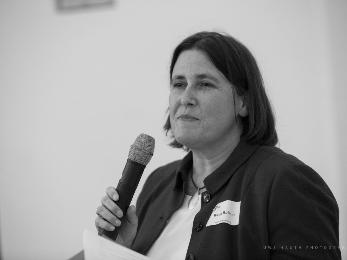 Katja Bobsin bei der Fachtagung 2019