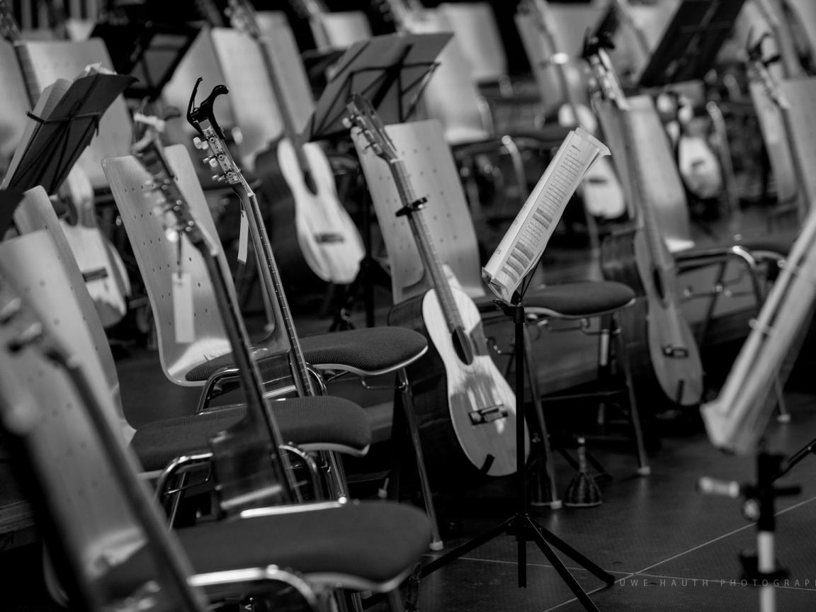 Leere Stühle - keine Konzerte in Zeiten von Corona