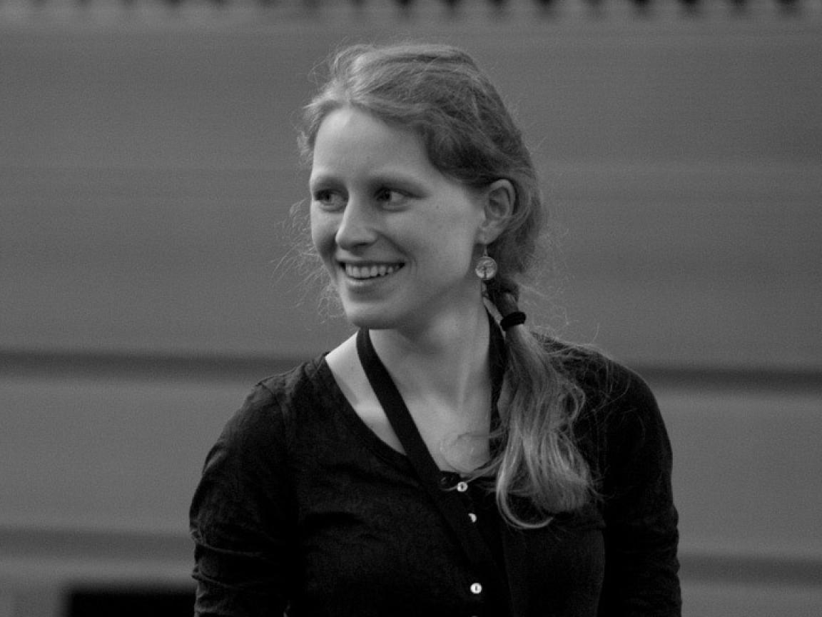 Mitarbeiterin Maria Soual